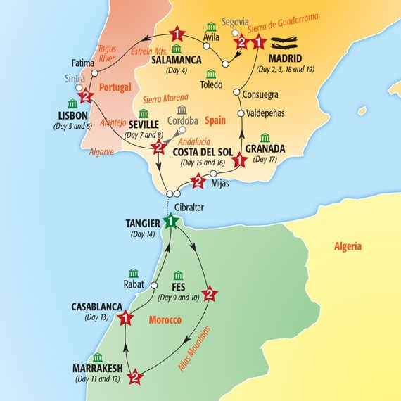 Spain Portugal Morocco Insight Vacations March 26